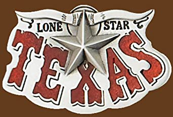 Texas Lone Star Belt Buckle