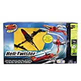 Air Hogs Red Heli Twister Radio Control Helicopter - Black