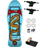 Powell Peralta Steve Caballero Light Blue Chinese Dragon Re-Issue Old School Skateboard... by PP