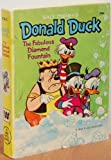 Walt Disney's Donald Duck : The Fabulous Diamond Fountain (A Whitman Book) (A Big Little Book)