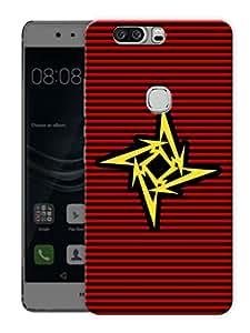 "Metallica MinimalPrinted Designer Mobile Back Cover For ""Huawei Honor V8"" (3D, Matte, Premium Quality Snap On Case)"