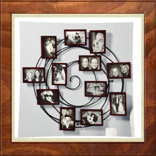 3 Opening Frame: Hanging Spiral Family / Friends Floating Picture ...