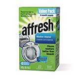 Whirlpool - Affresh Washer Machine Cleaner, 6-Tablets, 8.4 oz