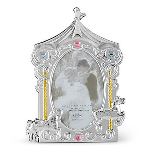 Carousel Picture Frame: Lenox Baby Jewel Carousel Frame