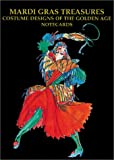 img - for Mardi Gras Treasures: Costume Designs of the Golden Age Notecards book / textbook / text book
