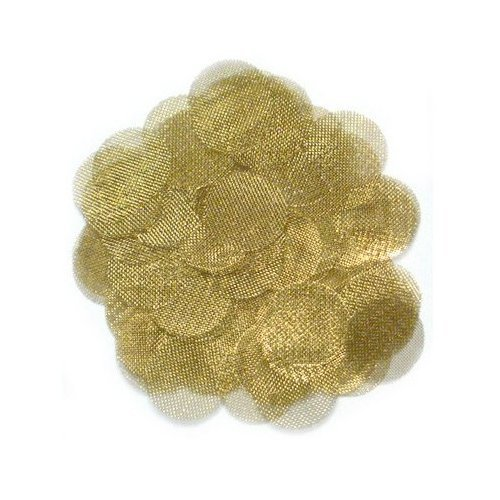 Brass Screens for Tobacco Smoking Pipes or Herbs - Pick your size - 100 Pack (3/4 Inch (.75 in))