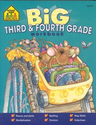 BIG THIRD AND FOURTH GRADE WORKBOOK