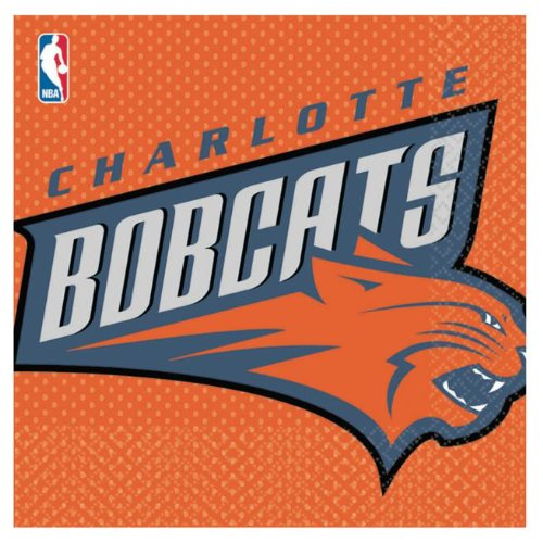 Charlotte Bobcats Lunch Napkins