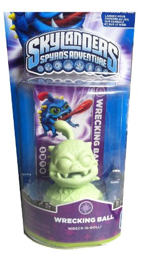 Skylanders Spyro's Adventure: Glow in the Dark Wrecking Ball - Extremely Rare and Collectible Variant (Skylanders Dark Spyro Figure compare prices)
