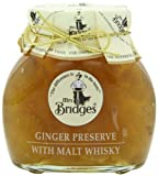 Mrs Bridge's Ginger Preserve with Malt Whisky 340g