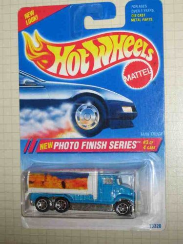 Photo Finish Series #3 Tank Truck Mount Rushmore Image #333 Collectible Collector Car Hot Wheels 1:64 Scale - 1