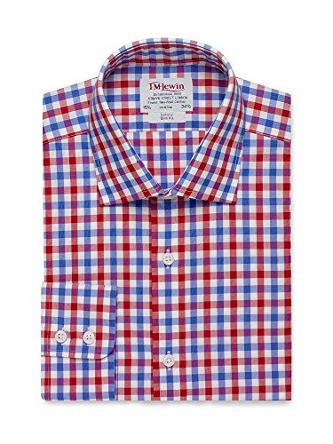 tmlewin-mens-slim-fit-red-blue-check-poplin-shirt-16