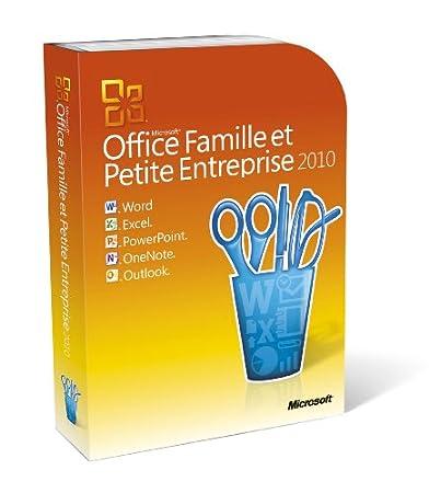 Office famille et petite entreprise 2010 (Outlook inclus), 2 postes