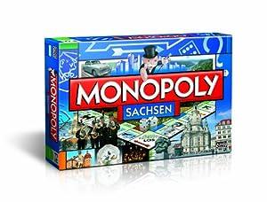 Winning Moves 41689 - Monopoly Sachsen