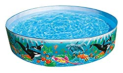 Intex Ocean Coral Reef Snapset Instant Kids Childrens Swimming Pool, 58461Ep