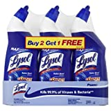 Lysol Toilet Bowl Cleaner, 24 Ounce, 3 Count