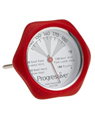 Progressive International Silicone instant Read Thermometer by Progressive International
