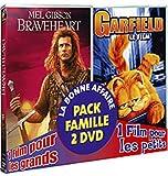 echange, troc Braveheart / Garfield - Bi-pack 2 DVD