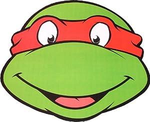 Amazon.com: Teenage Mutant Ninja Turtles - Raphael - Card Face Mask