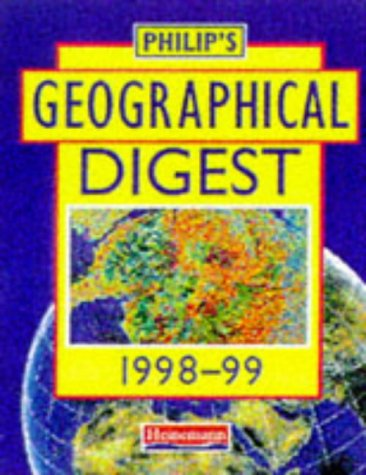 Philip's Geographical Digest 1998-99