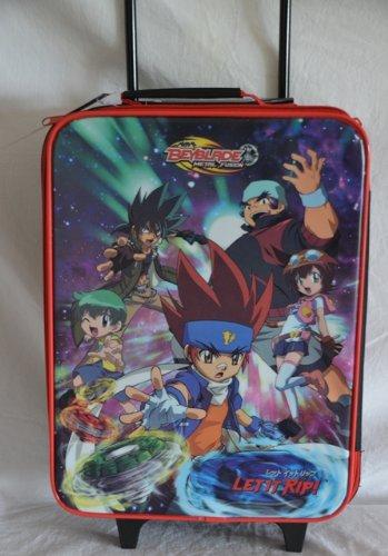 BeyBlade BeyBlades Metal Fusion Koffer Trolley