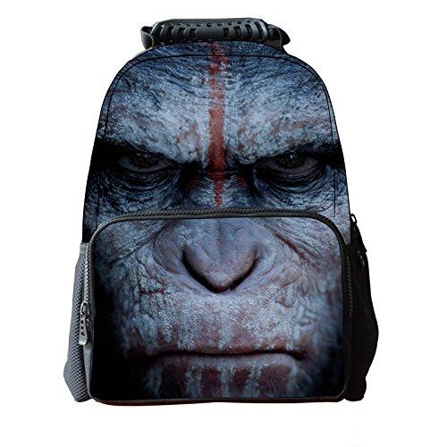 imayson-3d-animal-cute-kids-mochila-para-ordenador-portatil-gorilla-negro-ukb41