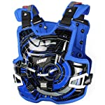 Leatt Adventure Lite Tech Adult Chest Protector Off-Road/Dirt Bike Motorcycle Body Armor - Blue / One Size
