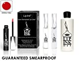 LIP INK Organic Vegan 100% Smearproof Lip Stain Kit Energy Red