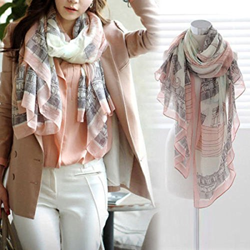 Fashion-Women-Long-Cotton-Scarf-Wrap-Ladies-Shawl-Girls-Large-Silk-Scarves-New-T, infinity scarf, It can be worn over you coat, sweater or suit, in autumn or spring (Girls Light Blue Converse compare prices)