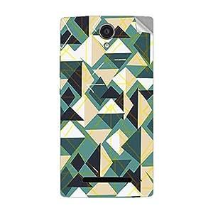Garmor Designer Mobile Skin Sticker For Vivo Y20T - Mobile Sticker