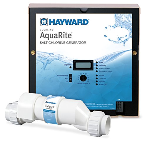 Hayward AQR15 AquaRite Salt Chlorination System for In-Ground Pools up to 40,000 Gallons (Chlorine Generators compare prices)
