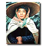 Japanese Oriental Asian Girl Home Decor Wall Picture 16x20 Art Print