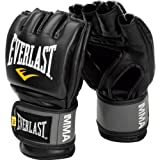 Everlast Pro Style MMA Grappling Gloves, Large/Xtra Large, (Black)