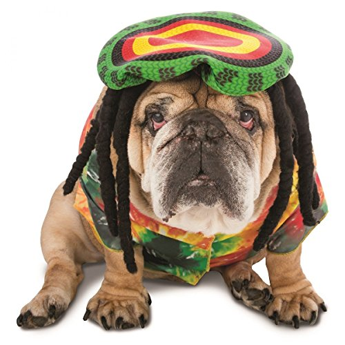 [GSG Zelda Rasta Dog Costume Pet Halloween Fancy Dress] (Gladiator Dog Costumes)