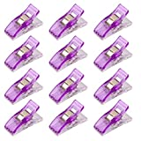 Imported 50Pcs Wonder Clips Quilters clips Sewing Clip Quilting Supplies Purple
