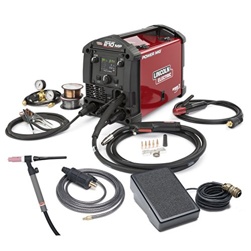 Great Features Of Lincoln Electric POWER MIG 210 MP Multi-Process Welder TIG One-Pak - K4195-2
