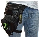 【多機能】 モンスターエナジー ウェスト太ももバッグ レッグポーチオートバイ携帯電話 財布パケット小包