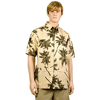 Butter Palm Trees Hawaiiabera Shirt