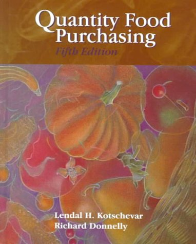 Quantity Food Purchasing (5th Edition)