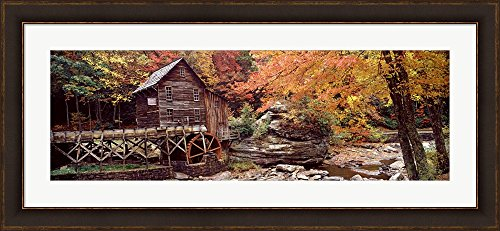 glade-creek-grist-mill-with-autumn-trees-babcock-state-park-west-virginia-by-panoramic-images-framed
