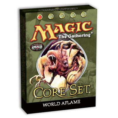 Magic the Gathering MTG 9th Edition Core Set World Aflame Theme Deck