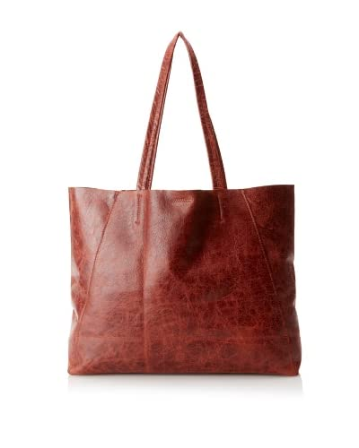 Streets Ahead Women's Classic Small Tote Bag, Vintage Maroon