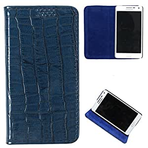 For Blackberry 9720 - DooDa Quality PU Leather Flip Case Cover With Smooth inner Velvet To Keep Screen Scratch-Free