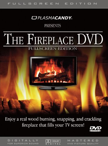 Fireplace DVD: Real Wood Burning Fire (Anamorphic - FullScreen Edition) (Fireplace Cds compare prices)