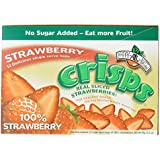 Brothers-ALL-Natural Crisps, Strawberry, 0.26 oz Bags, 0.26 oz, 12ct