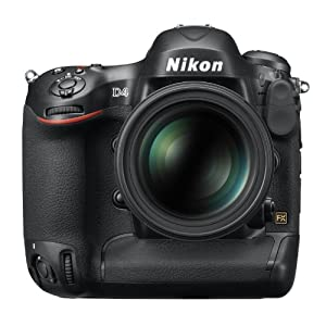 17. Nikon D4 16.2 MP CMOS FX Digital SLR with Full 1080p HD Video (Body Only) Price: $5,999