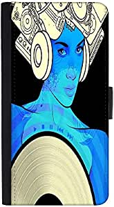 Snoogg Music Maam Designer Protective Phone Flip Back Case Cover For Lenovo Vibe K4 Note