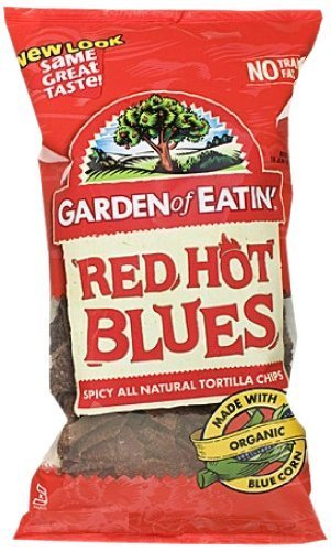 Garden of Eatin' Tortilla Chips, Red Hot Blues, 8.1 Ounce (Pack of 12) by Garden of Eatin' [Foods]