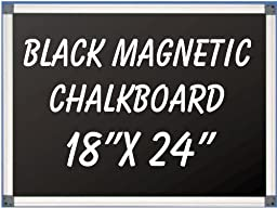 Wall Mounted Magnetic Chalkboard Size: 1.5\' H x 2\' W