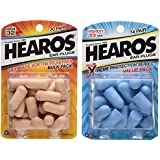Hearos Ear Plugs: Xtreme Protection Series [14-Pair Foam] & Ultimate Softness Series [20-Pair Foam]